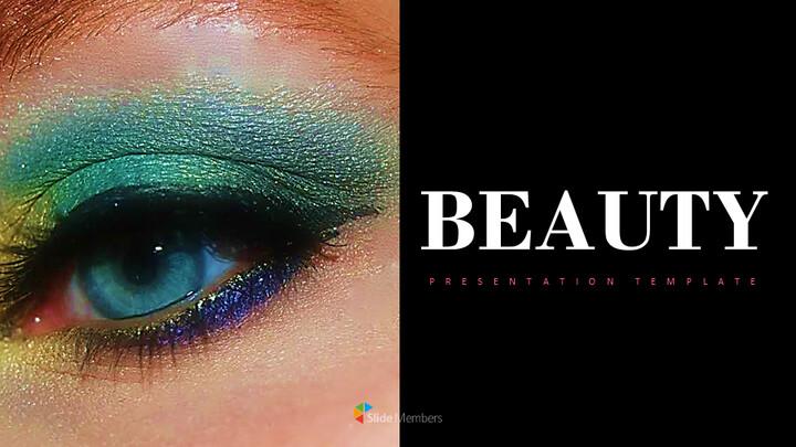 아름다움 프레젠테이션용 Google 슬라이드 테마_01