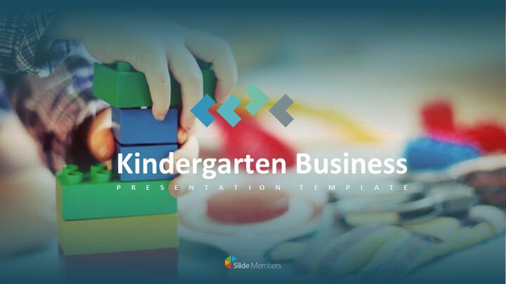 유치원 사업 테마 Google 슬라이드_01