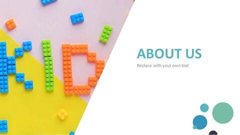 유치원 사업 테마 Google 슬라이드_02