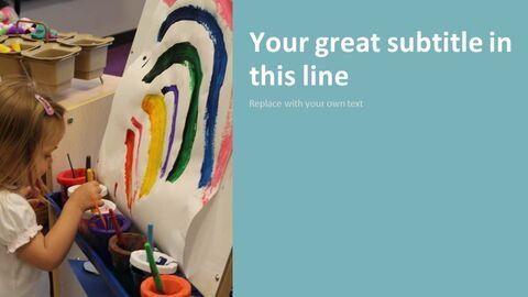 유치원 사업 테마 Google 슬라이드_05