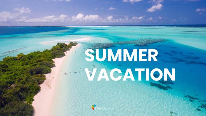 여름 방학 프레젠테이션용 Google 슬라이드 테마_01