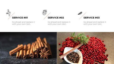 향신료와 조미료 테마 Google 슬라이드_02