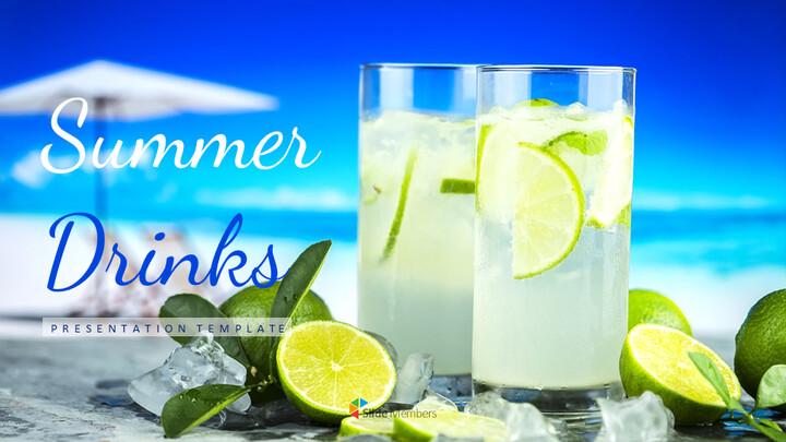 여름 음료 Google 프레젠테이션 슬라이드_01