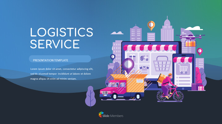 Logistics Service Google Slides Themes for Presentations_01