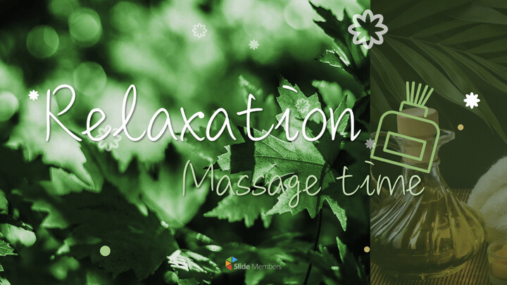 Relaxation Massage time Apple Keynote Template_01