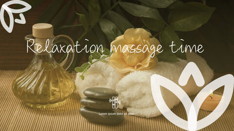 Relaxation Massage time Apple Keynote Template_03