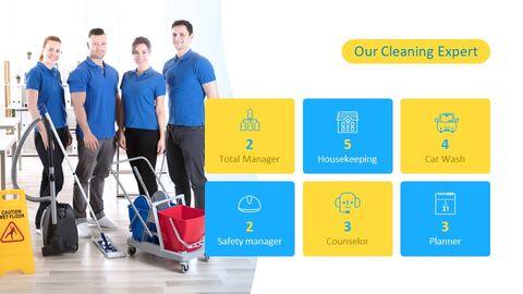 청소 서비스 심플한 Google 슬라이드 템플릿_04