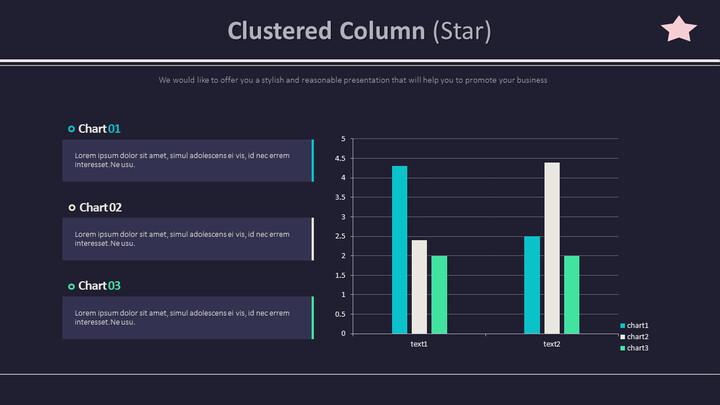 Clustered Column (Star)_01