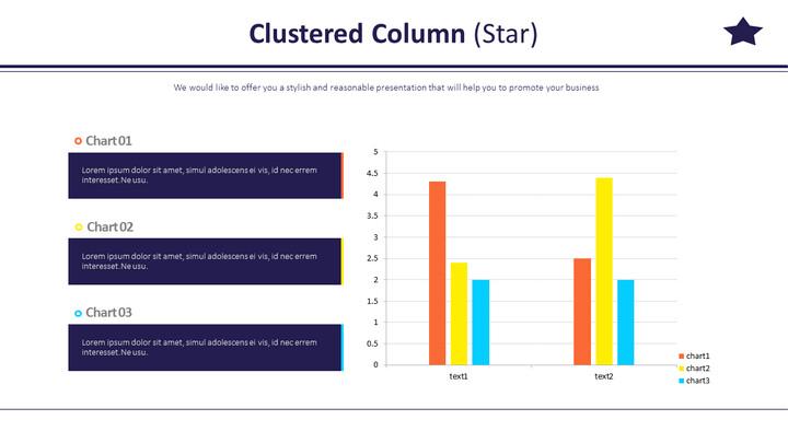 Clustered Column (Star)_02
