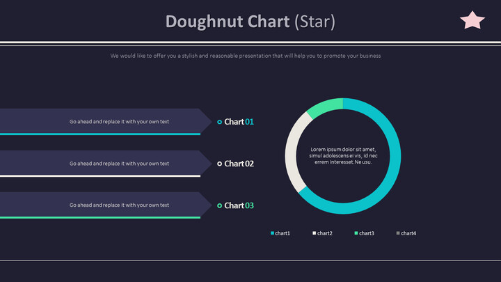 Doughnut Chart (Star)_01