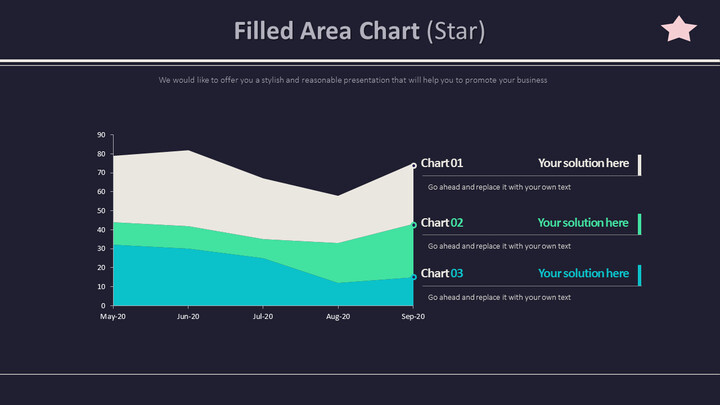 Filled Area Chart (Star)_01