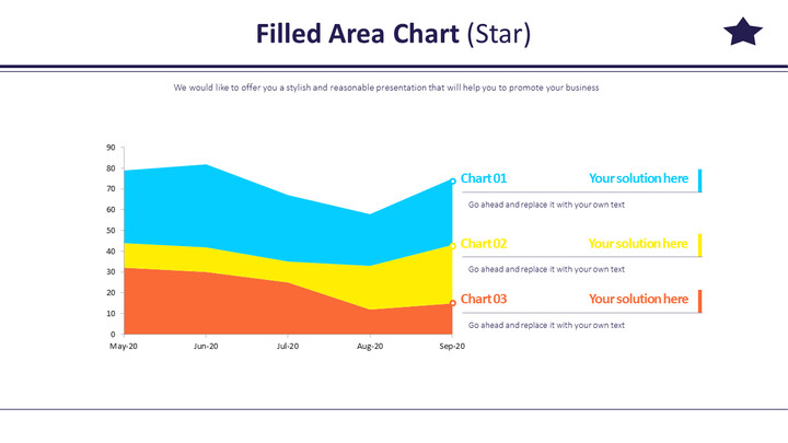 Filled Area Chart (Star)_02