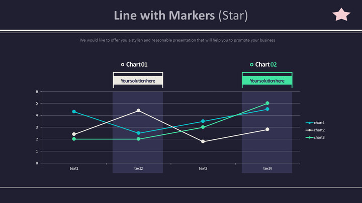 Line with Markers (Star)_01