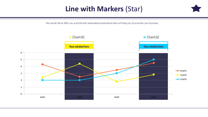 Line with Markers (Star)_02