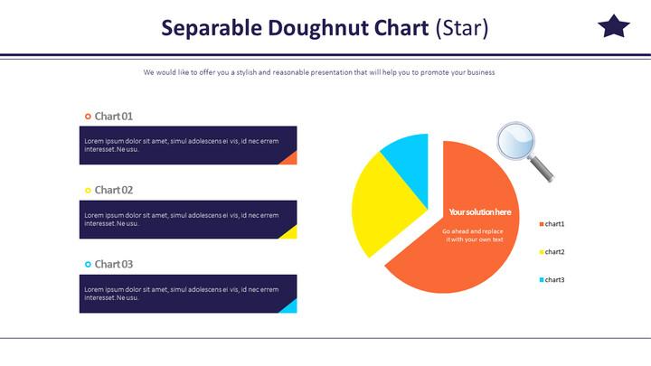 Separable Doughnut Chart (Star)_02