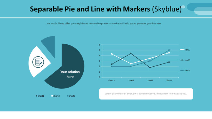 Separable Pie and Line with Markers (Skyblue)_01