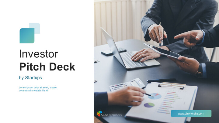 Investor Pitch Deck Google Slides Themes for Presentations_01