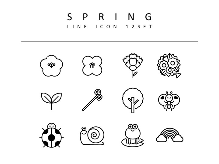 Spring Vector Icons_01