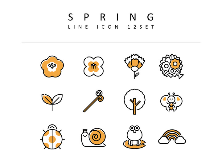 Spring Vector Icons_02