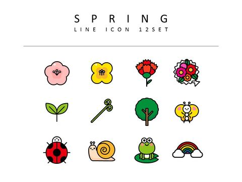 Spring Vector Icons_03
