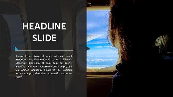 비행기 여행 프레젠테이션용 Google 슬라이드_02