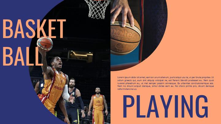 Basketball Playing Google Slides for mac_01