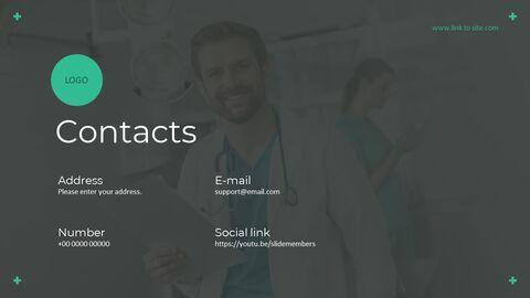 의료 서비스 피치덱 파워포인트 템플릿_17
