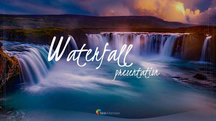 Waterfall Google PowerPoint Presentation_01