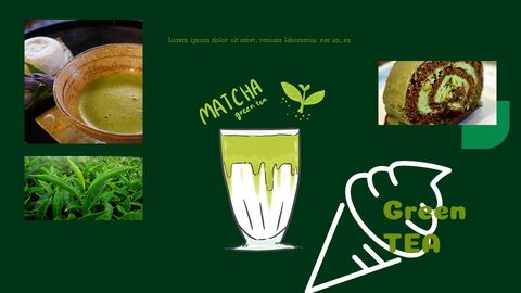 Green Tea Google Slides Template Diagrams Design_03