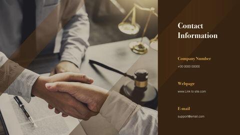 Law Firm Pitch Deck Keynote Presentation_12