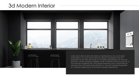 3d Modern Interior Simple Keynote Template_08