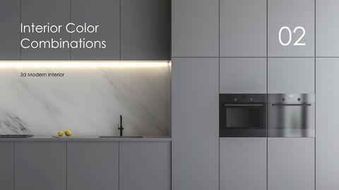 3d Modern Interior Simple Keynote Template_11