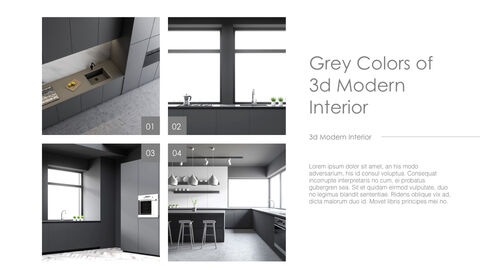 3d Modern Interior Simple Keynote Template_02