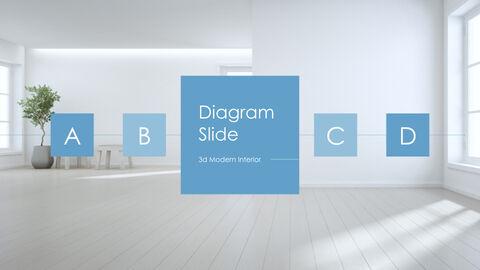 3d Modern Interior Simple Keynote Template_26