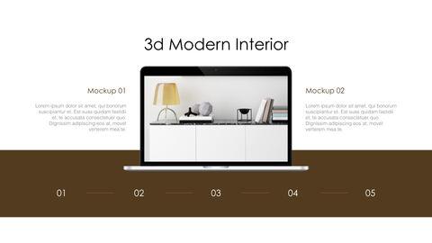 3d Modern Interior Simple Keynote Template_38