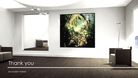 3d Modern Interior Simple Keynote Template_40