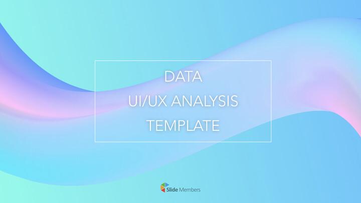 데이터 UI / UX 분석 테마 키노트 디자인_01