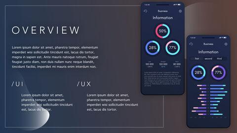 데이터 UI / UX 분석 테마 키노트 디자인_15