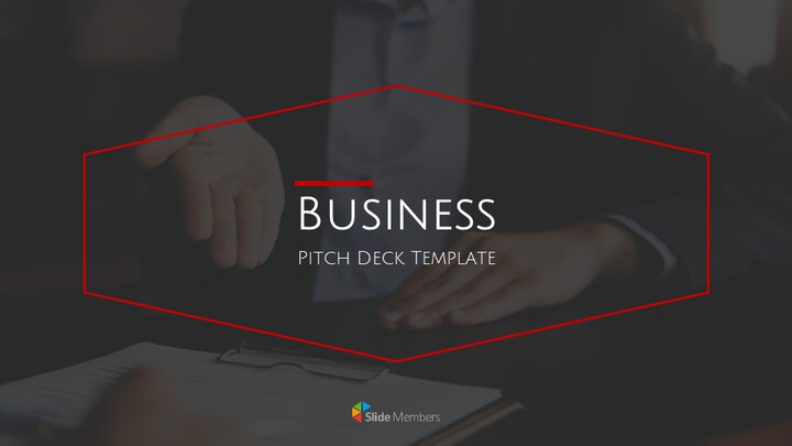 Business Pitch Deck Google Slides Themes for Presentations_01
