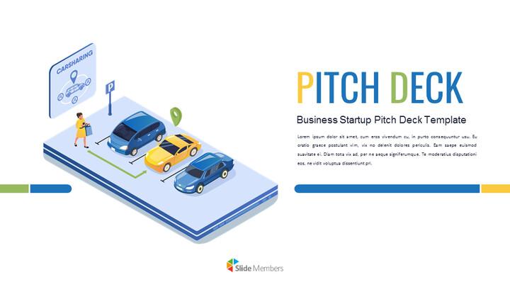 자동차 공유 서비스 피치덱 맞춤형 구글 슬라이드_01