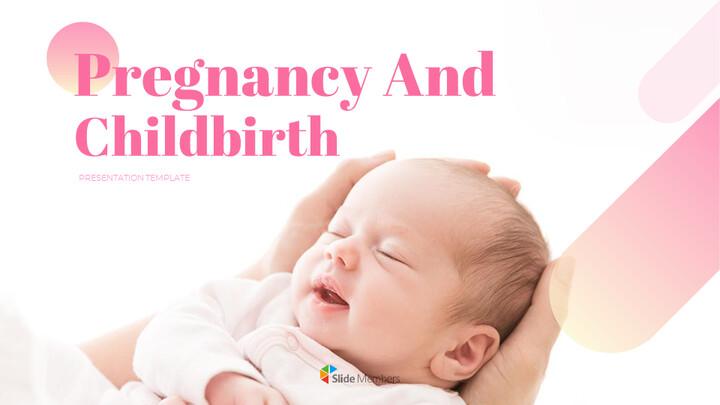 임신과 출산 창의적인 구글슬라이드_01