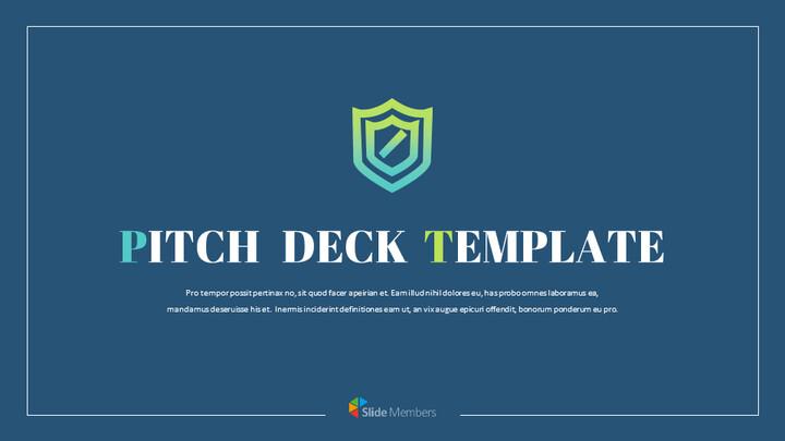 보안 회사 피치덱 프레젠테이션용 Google 슬라이드 테마_01