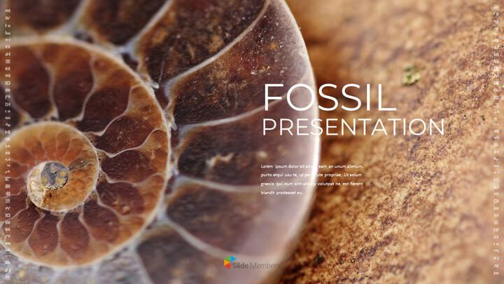 화석 Google 프레젠테이션 템플릿_01