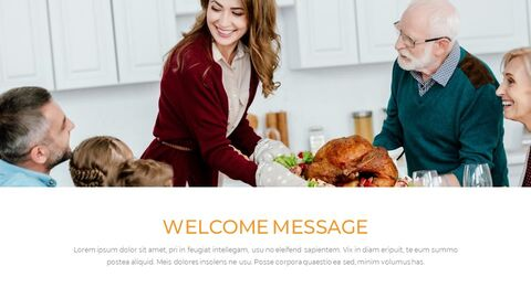 Thanksgiving day Simple Presentation Google Slides Template_04