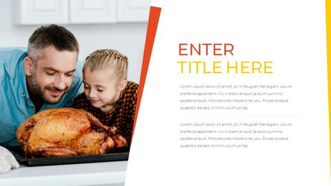 Thanksgiving day Simple Presentation Google Slides Template_05