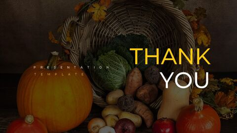 Thanksgiving day Simple Presentation Google Slides Template_40