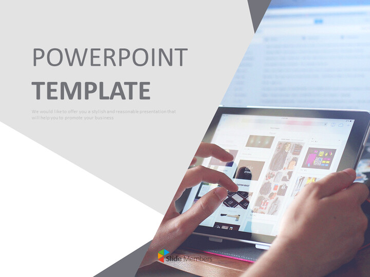 Free Professional Google Slides Templates - Internet of Modern People_01