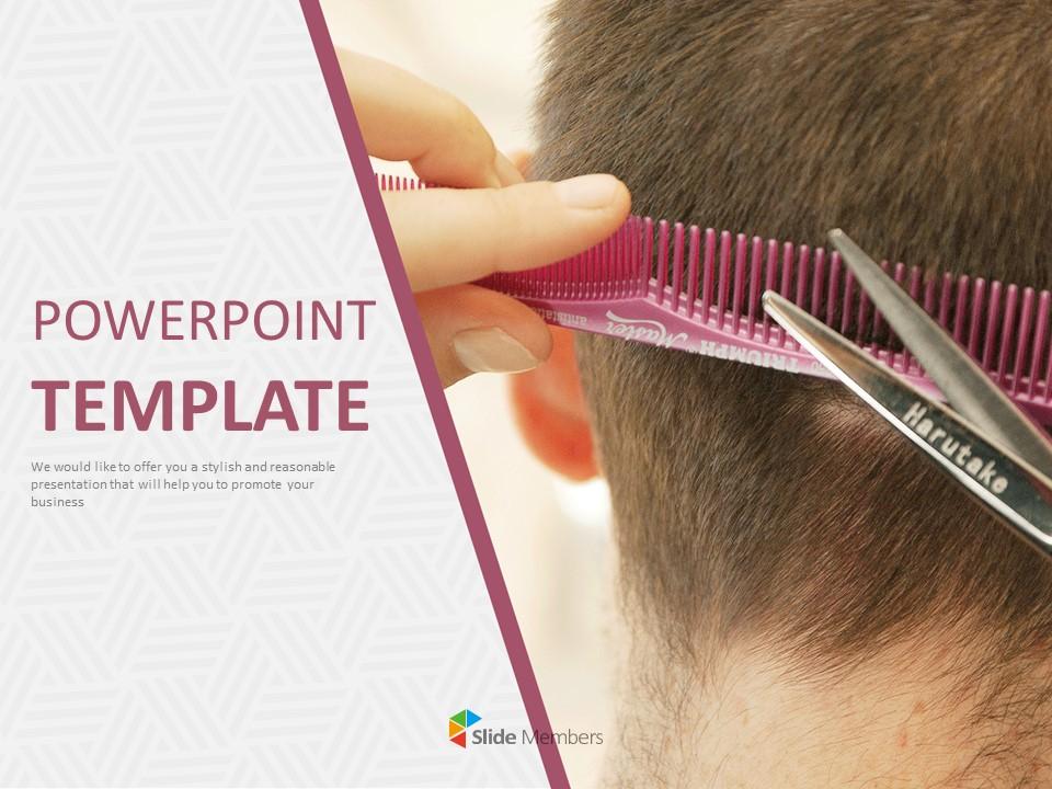 Hair Salon Google Slides Templates Free Download