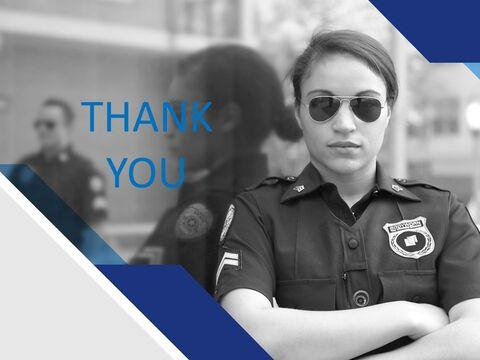 Free Business Google Slides Templates - Female Police Officer_03