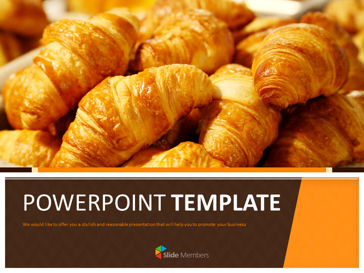 Google Slides Template Free Download - Warm Bakery_01